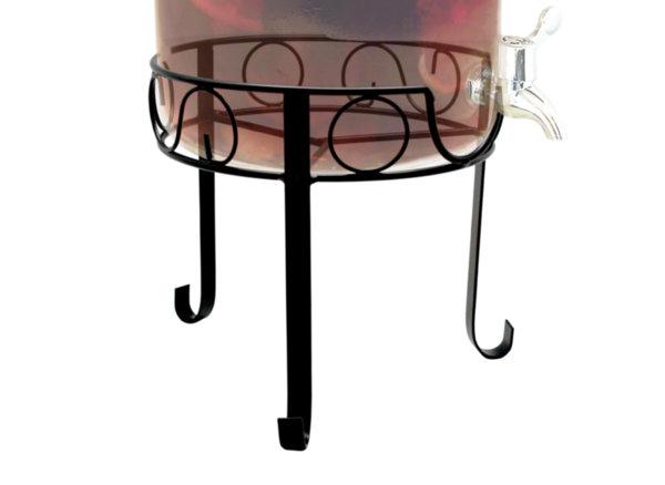 Vin Bouquet Стойка за стъклен буркан  с кранче 8л ( FIH 099)